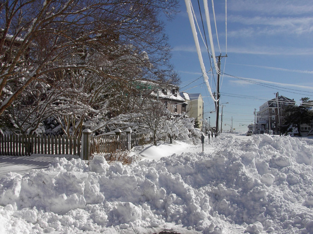 Cape May Snow